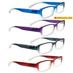 OptiPlix-For Men & Women-Fashion Readers-Set of 4-Eyeglasses