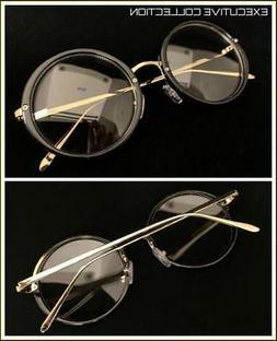 Men Classic RETRO Nerd Waldo Style Clear Lens EYE GLASSES Ro