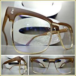 Men Classy Elegant Luxury Exotic Clear Lens EYE GLASSES Squa