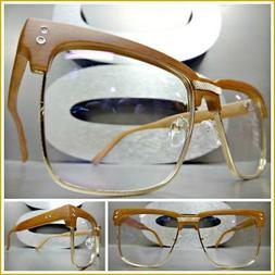 Men Classy Elegant Luxury Exotic Clear Lens EYE GLASSES Squa