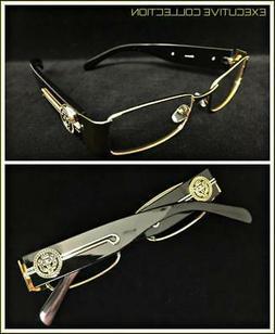 Men Classy Exotic Elegant Retro Style Clear EYE GLASSES Gold