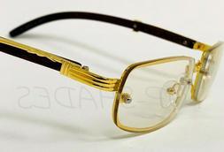 Men's Clear Lens Eye Glasses Classy Elegant Sophisticated Go