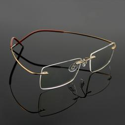 men s flexible optical eyeglass frame eyewear
