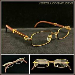 Men's Sophisticated CLASSY ELEGANT Exotic Clear Lens EYE GLA