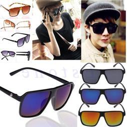 Men's Vintage UV400 Outdoor Sunglasses Sports Retro Driving