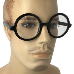 Men VINTAGE RETRO WALDO PROFESSOR Style Clear Lens EYE GLASS