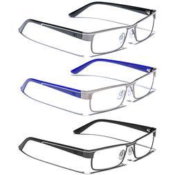 Men Women Clear Lens Reading Eye glasses Fashion Readers 1.5