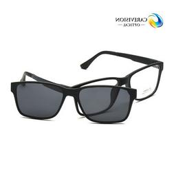 Men Women Eyeglasses Frame Magnetic Clip on Driving Sunglass