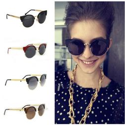 Men/Women's Fashion Vintage Metal Frame Round Glasses Unisex