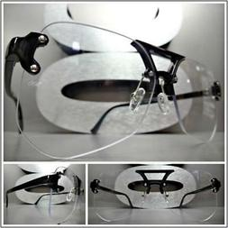 Mens or Women VINTAGE 50s RETRO Style Clear Lens EYE GLASSES