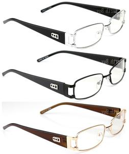 Mens Womens Eyewear Clear Lens Frame Eye Glasses Rectangular