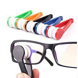 5 Pcs Mini Sun Glasses Eyeglass Microfiber Spectacles Cleane
