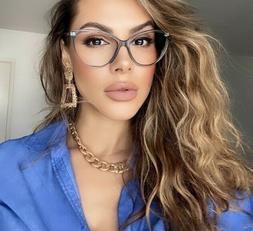 MISS FOXY Women Eyeglasses CAT EYE Clear Lens Shadz  Glasses