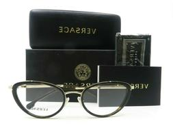 Versace MOD.1258 1440 Tortoise Brown and Gold Cat Eye New Wo