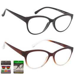 Multi Focus Progressive Reading Glasses 3 Powers in 1 Reader