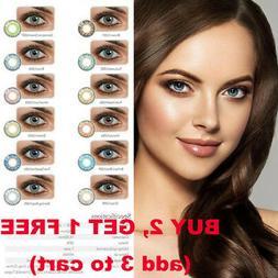 Natural Plain Soft Glass Contact Lens Men Women Party Eye Be