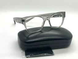 NEW Authentic Coach Eyeglasses HC 6126 5172 GREY TRANSPARENT