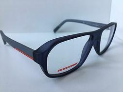 NEW AUTHENTIC PRADA SPORT VPS 05G UFJ-1O1 Blue Men Eyeglasse