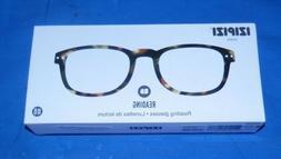 NEW IZIPIZI -B- READING EYE GLASSES TORTOISE +2 New in Box w