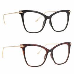 New Clear Lens Cat Eye Glasses Retro 60S Vintage Style Women