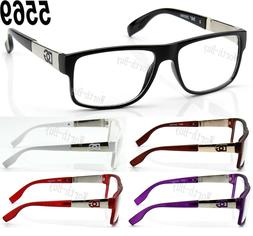New DG Clear Lens Frame Eye Glasses Designer RX Womens Mens