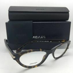 New PRADA Eyeglasses VPR 18P 2AU-1O1 52-17 135 Tortoise Hava