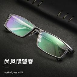 New Men's Fashion Business Aluminium Eyeglasses Frames Optic