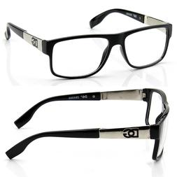 New Mens Square Clear Lens Frame Eye Glasses Fashion Designe