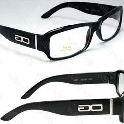New WB Mens Women Clear Lens Rectangular Frame Fashion Eye G