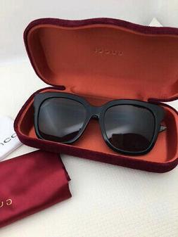 NEW GUCCI Womens Glitter Havana Blue Stripe Eye Glasses Fram