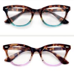 Non Prescription Cat Eye Glasses  Tortoise/ Pink Tortoise/te