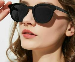 Outdoor Round Style Frame Eye Wear Glasses For Ladies Sungla