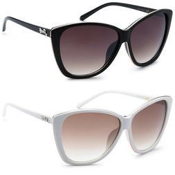 Oversized Big Cat Eye Fashion Designer Sunglasses Women Ladi