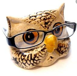 owl eye glasses holder ready to paint