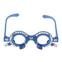 MagiDeal Plastic Optical Trial Lens Frame Eyeglass Optometry