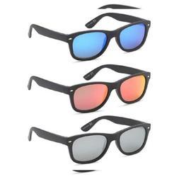 Polarized Sunglasses Men and 3 Pairs - 55 Eye Size Matte Bla