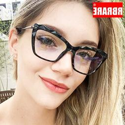 RBRARE Retro Alloy <font><b>Glasses</b></font> Frame Women F