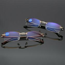 Reading Glasses Computer Eye HD Lens Blue Light Presbyopia R