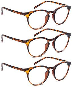 Outray Reading Glasses for Women and Men - Best Designer 3 P