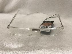 CliC Reading Glasses Original Readers CLEAR Full Rim Magneti
