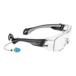 ReadyMax SoundShield Fit Over Style, Black Frame, Clear Anti