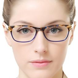 rectangle stylish eyewear frame non prescription eyeglasses