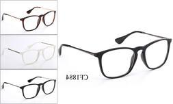 Retro Clear Lens Glasses Eyewear Nerd Office Fake Smart Fram