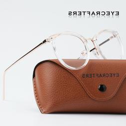 retro mens womens clear lens eyeglass frames