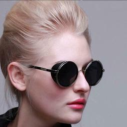 Retro Metal Punk Sunglasses Sun Glasses Male Eye Wear Access
