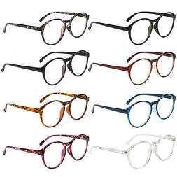 Retro Plastic Optical Glasses Frame Round Glasses Spectacles