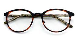 Round Circle Oval Clear Lens Glasses Eyeglasses Non-Prescrip