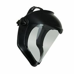 Sperian Protection S8500 Bionic Face Shield, Matte Black Fra
