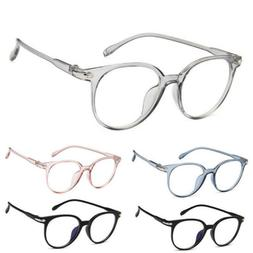 Fashion Round Myopia Eyeglasses Frame Clear Spectacle Optica