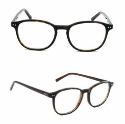 Spring Hinges Eyeglasses Frame Rx-able Reading Glasses Mens